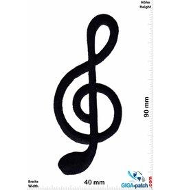 Notenschlüssel Clavis -  clave -  chiave -  clef