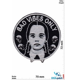 Addams Family Wednesday Addams - Bad Vibes Only