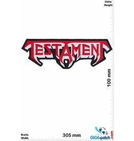 Testament - 30 cm