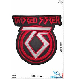 Twisted Sister  Twisted Sister - red silver - 29 cm