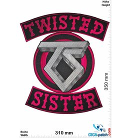 Twisted Sister  Twisted Sister - purple silver - 35 cm