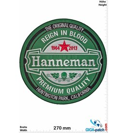 Slayer Jeff Hanneman - Slayer - Reign in Blood  - 28 cm