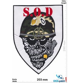 SOD S.O.D. - Stormtroopers of Death  - 28 cm