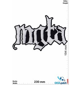 Mgta  Mgła- Mgta -Black-Metal-Band   - 23 cm