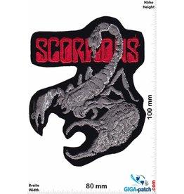 Scorpions Scorpions - silver red - HQ