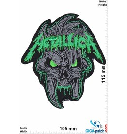 Metallica Metallica - Skull - green - HQ