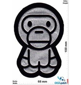 Raumfahrt Astro Monkey - silver