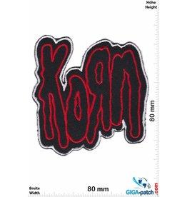 Korn Korn - red silver - Metalband