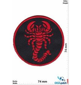 Scorpions Red Scorpion  - Skorpion - round