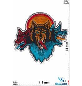 Wolf 3 Wölfe - Wolfsrudel - Wolfpack