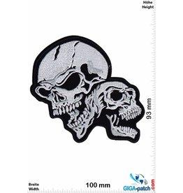Totenkopf 2 Skull - laughing