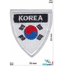 Süd Korea, Republik Korea Süd Korea  - Flagge - Wappen