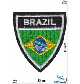 Brazil Brasilien - Brazil - Flagge - Wappen
