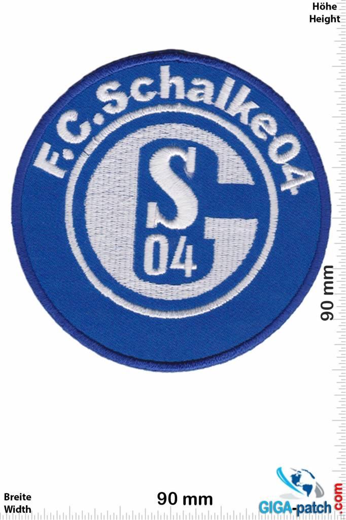 fc schalke 04  fussball  aufnäher shop  patch  shop