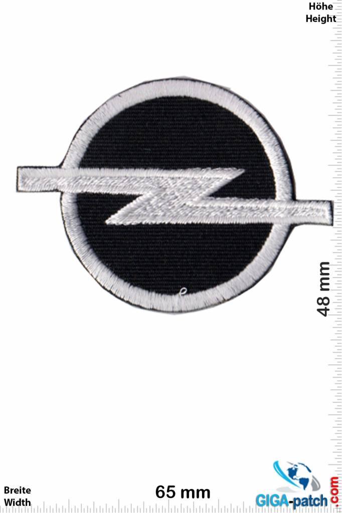 Opel Opel Logo Black Silver