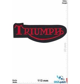 Triumph Triumph - schwarz rot
