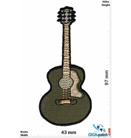 Gitarre Acoustic Guitar - greengray