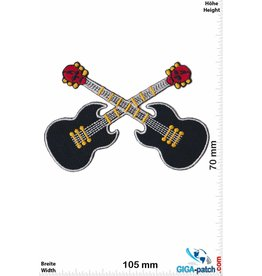Gitarre Skull Guitar