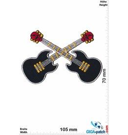 Gitarre Totenkopf  Gitarre