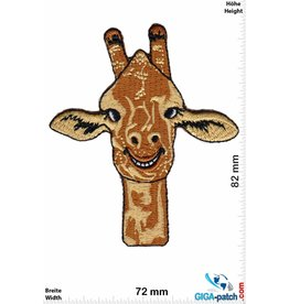 Pferd Giraffe Head - Smile