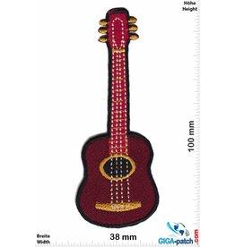 Gitarre Akustik Gitarre - red