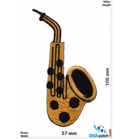 Gitarre Saxophone - gold