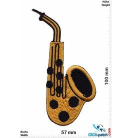 Gitarre Saxophones - gold