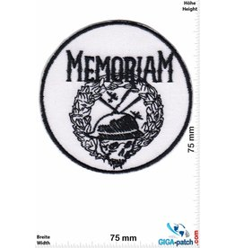 Army Memoriam - black white