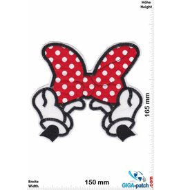 Mickey Mouse  Mickey Mouse - Mini Mouse - Schleife   - Big - Softpatch