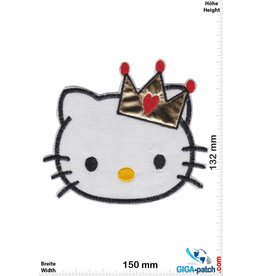 Hello Kitty Hello Kitty -  Head - Crown - BIG Softpatch