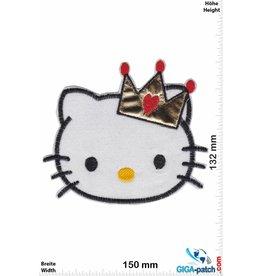 Hello Kitty Hello Kitty -  Head - Crown - BIG Softpatch