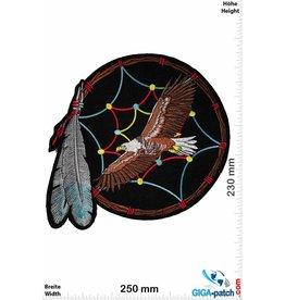Indian Traumfänger Indianer - Adler -  25 cm
