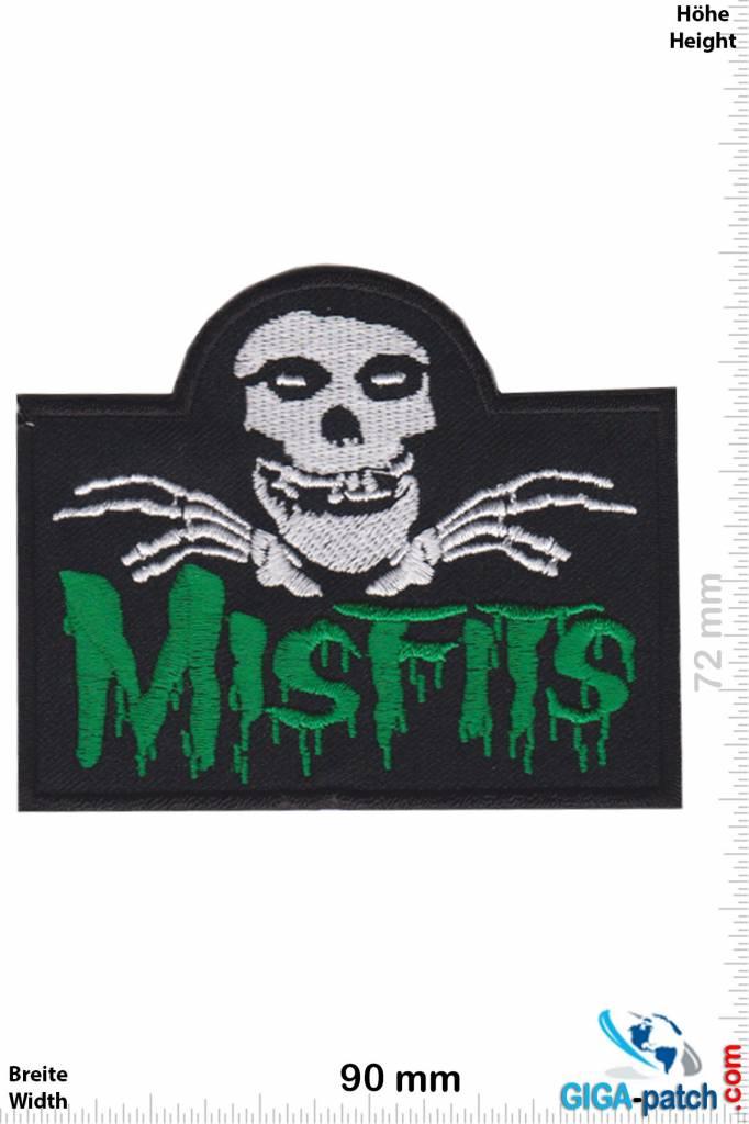 Misfit Misfits - Skull - green