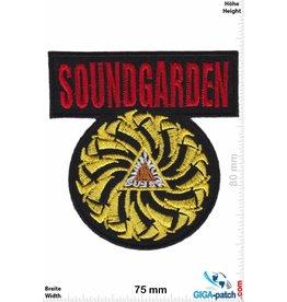 Soundgarden Soundgarden - red gold- US Grunge-Band
