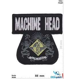 Machine Head Machine Head - Metal-Band- Coat of Arm