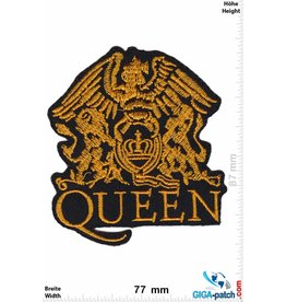 Queen Queen - gold - Coat of Arms