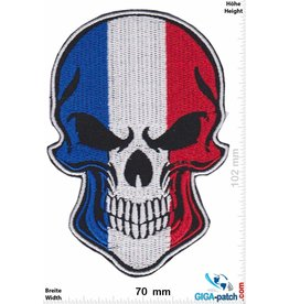 Frankreich, France France - Skull