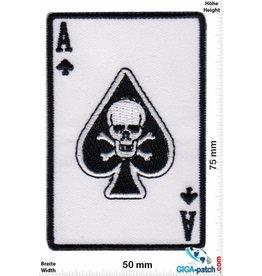 Totenkopf ASS - Skull - white