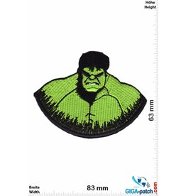 Hulk - Kopf - Marvel-Comic