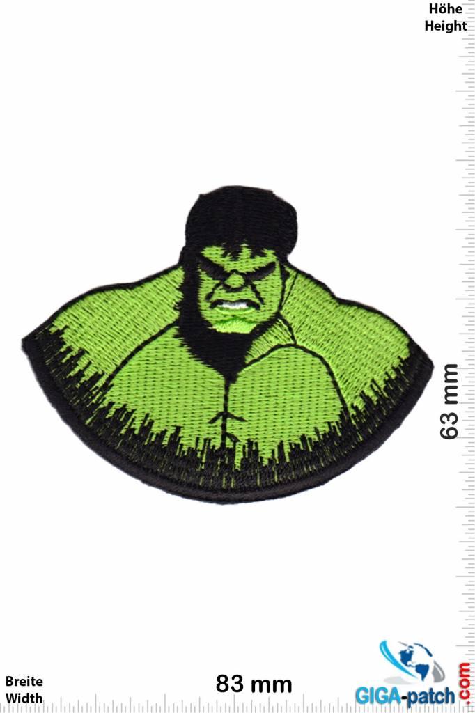 Hulk - Kopf - Marvel-Comic