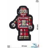 Robot Robot - red gold