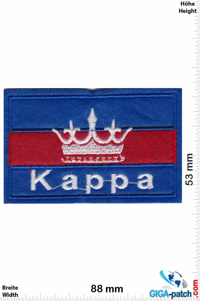 Kappa - blue red - Softpatch