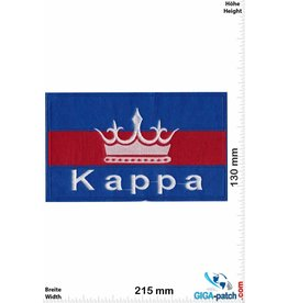 Kappa - blue red - Softpatch - 21cm