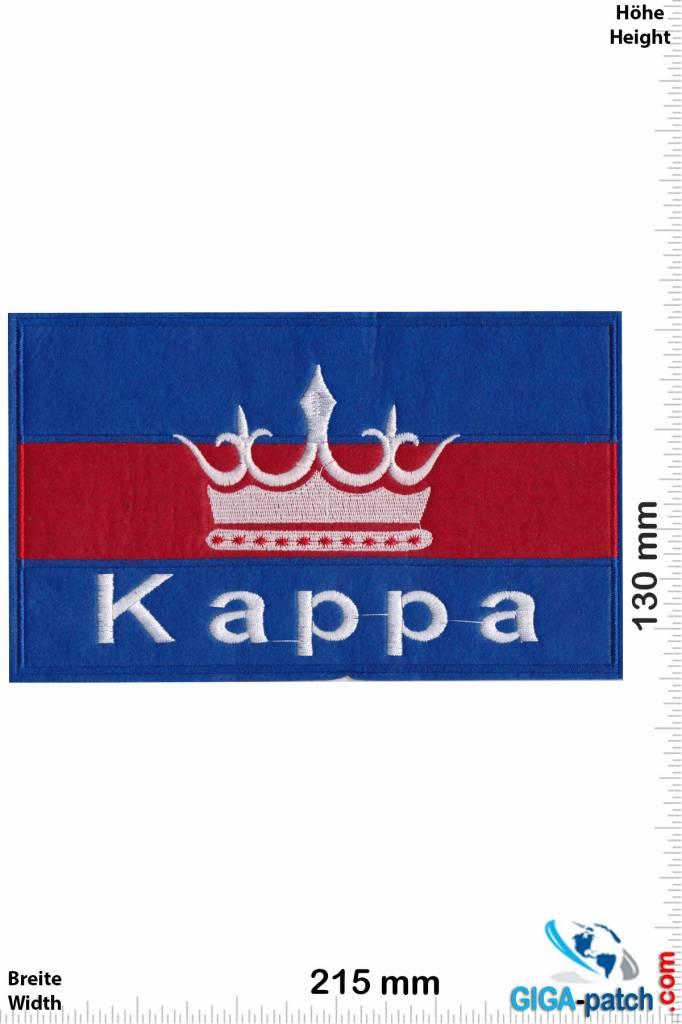Kappa - blue red - Softpatch - 21cm