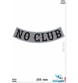 No Club No Club -  curve - 25 cm - BIG