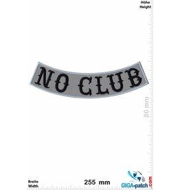 No Club No Club -  curve - 25 cm - BIG