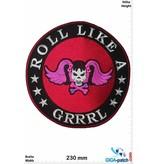Roll Like a Grrrl - 23 cm