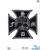 Black Label Society BLS - schwarz Label Society  - Kreuz