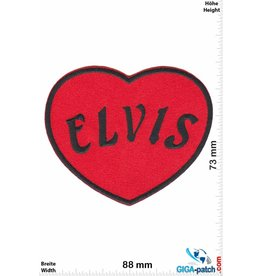 Elvis Elvis - Heart -red
