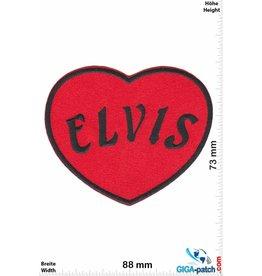 Elvis Elvis -  Herz - rot